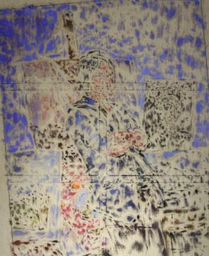 谢南星 《明信片3号》 150×190cm 布面油画 2015