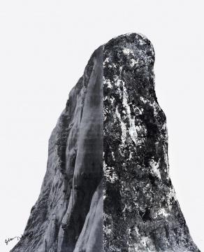 尚扬《董其昌计划-12》 360x290cm 布面综合材料 2008 成交价:644万元