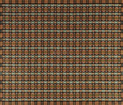 丁乙《十示》 140x160cm 布面油画  1997 成交价:172.5万元