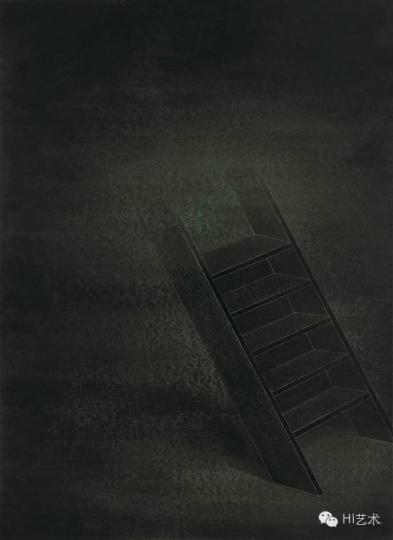 俞洁 《迷雾》113 x 89 cm 纸本丙烯 2015