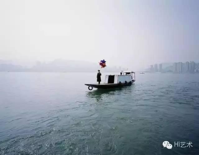 陈秋林《空的城》117.8×151cm 数码艺术微喷印刷 2012