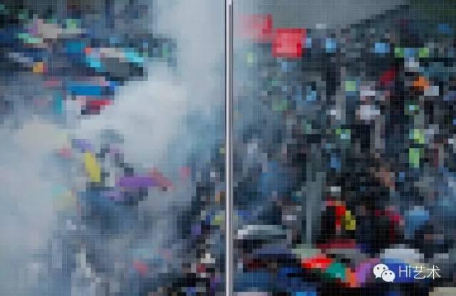 王国锋 《像素 2014 No.9》198 x 298 cm 数字微喷 2014