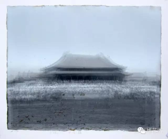 周吉荣 《太和殿》 60 x 75 cm 版画综合材料 2013