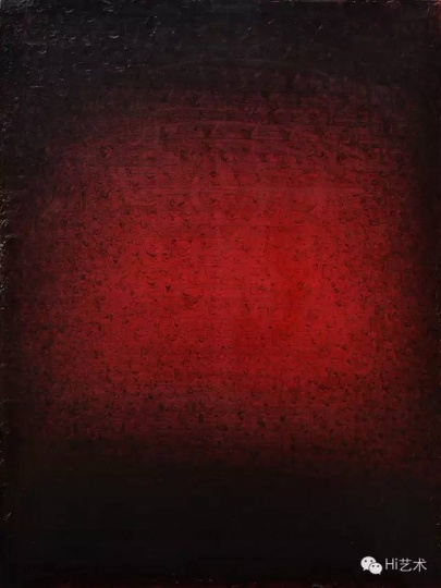 杨黎明 《2013NO.2R》 200×150cm 布面油画 2013
