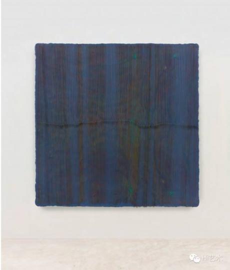 鞠婷 《+-》183×183cm 木板丙烯 2015