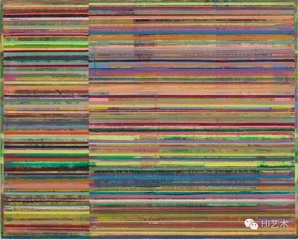 曲丰国 《四季 2014 春分》80x100 cm 布面油画 2014