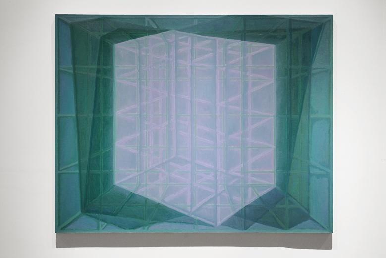 《线的形状2》,呈现了其近期从强调禁锢中的出走,进入一种更为内敛的思考之中