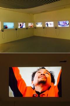 胡向前2014-2015年作品《再造米开朗基罗》