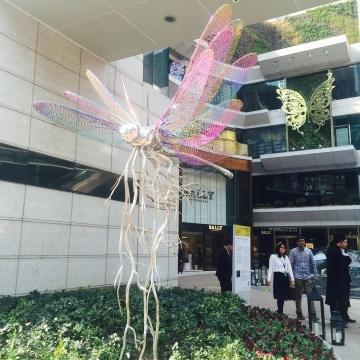 K11外部高孝午2015年作品《再生-蜻蜓》