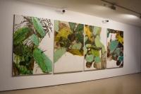 康蕾个展今日美术馆开幕 看见一朵花开的痕迹,康 蕾