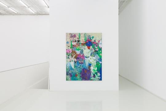 章剑 《三月》200 x 150cm 布面丙烯 2016