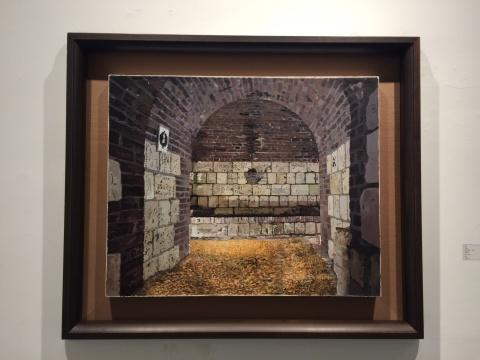 袁远 《大麦》84.5×104cm 布面油画 2012