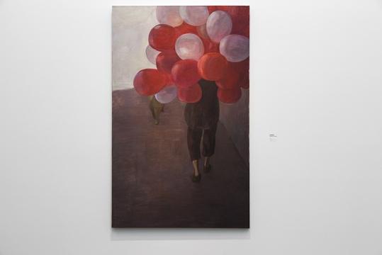《忠孝东路》210 x 130 cm 布面油画 2014 私人收藏