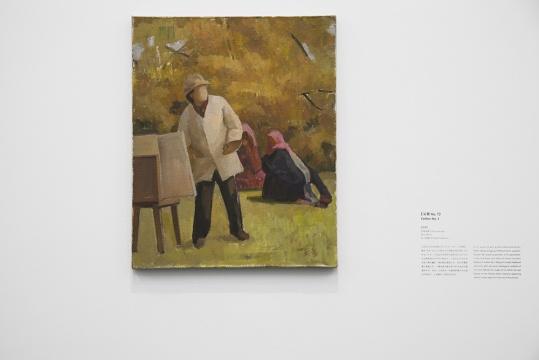 《父亲 No.1》60 x 48cm 布面油画 2010