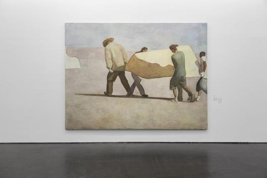 《西北》300 x 400cm 布面油画 2015