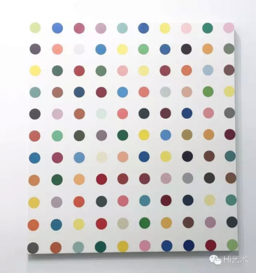 Damien Hirst Anhydrogitolin 1993 133.5x120.7cm