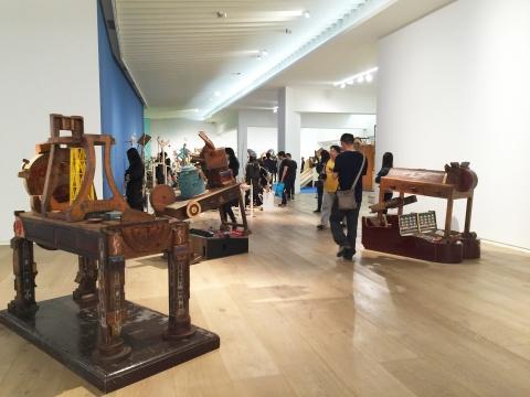 """5月14日,位于蓝色港湾的央·美术馆开启""""游乐园模式"""""""