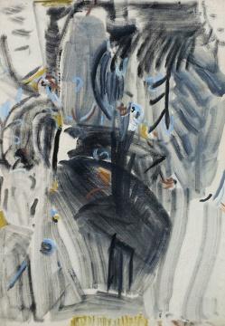 吴大羽《无题-38》 76×53cm 布面油画 成交价:1150万元