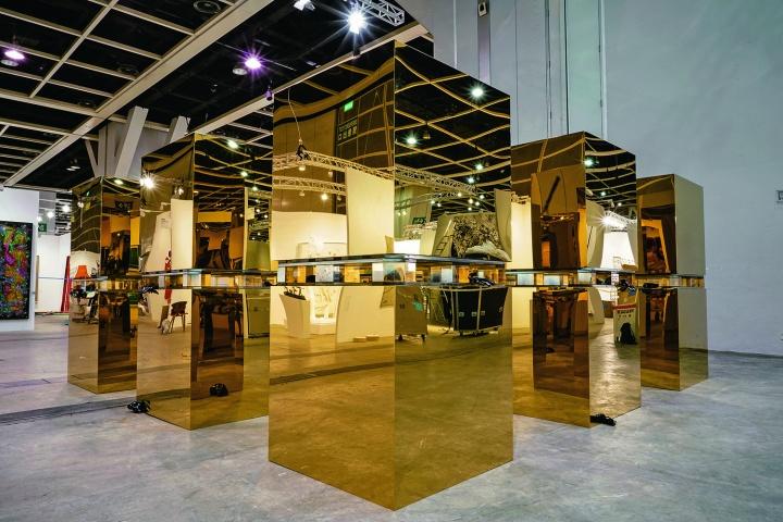 张鼎 《18 Cubes》首次进入香港巴塞尔艺聚空间
