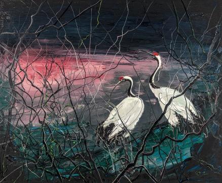 曾梵志《无题》180×220cm布面油画2012成交价:1062万港币