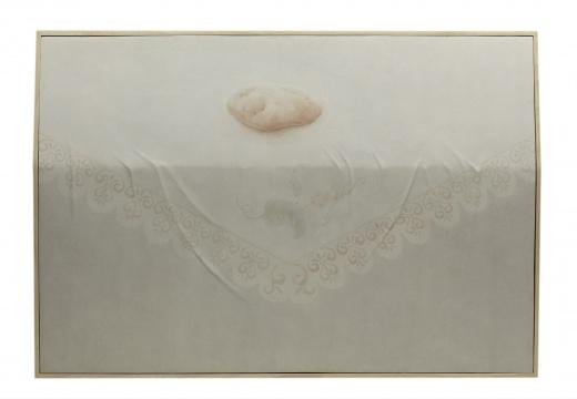 杭春晖 《日常:土豆》 62×92cm 纸本绘画、玻璃钢浮雕 2016