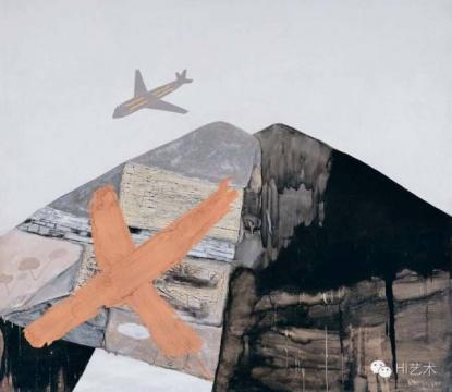 尚扬 《95大风景-1》 175×202cm 布面油画、丙烯 1995 成交价:598万元