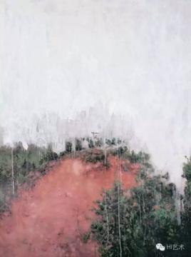刘炜 《风景》 200×150cm 布面油画 2006  成交价:575万元