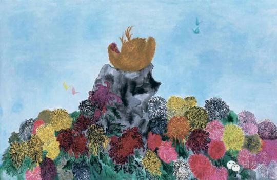段建宇 《早上好5》 110×170cm 布面油画 2006 成交价:97.75万元