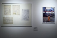 "OCAT研究中心聚焦90年代""展览中的展览""  将历史散落的碎片重新梳理,张晓刚,巫鸿,宋冬,吴文光"
