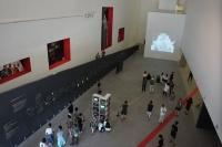 国际录像艺术研究展央美美术馆开幕 在时间广度和深度中织网的录像艺术