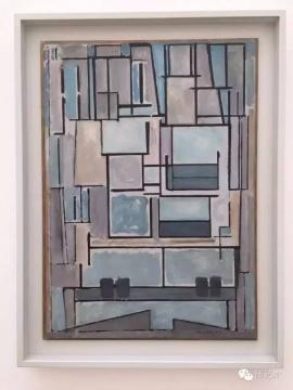 蒙德里安如何变成蒙德里安的@贝耶勒基金会美术馆。( Beyeler Foundation)