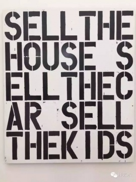 从来对美国明星Christopher Wool无感,成天写大字;2013年在纽约古根海姆看了100多件作品的回顾展后更加无感了;可是眼前这四张,选的,啧啧,拿种子艺术团团友的话好说,选的都超越了艺术家自己的水平了。@贝耶勒基金会美术馆( Beyeler Foundation) 又一个典型美术馆对比案例。
