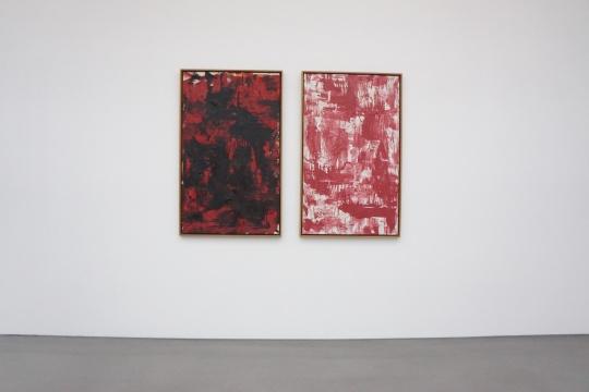 《学生》131×79cm×2 布面油画 1999