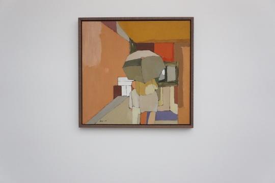 《故宫游客》780×130cm 布面油画 1989