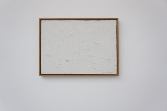 《空间86-9》50×70.5cm 布面油画 1986