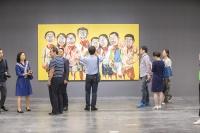 """""""散步""""在曾梵志的""""脑部结构"""" 观一名艺术家的三十年,曾梵志,王广义,张颂仁,皮力"""