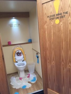 Frieze London, Julie Verhoven, The toilet attendant...Now Wash Your Hand