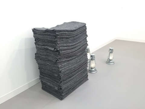 Frieze London, Tanya Bonakdar Gallery, Meschac Gaba,Memorial for Drowned Refugees