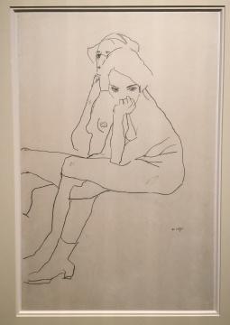 Frieze Master, V&K, Egon Schiele