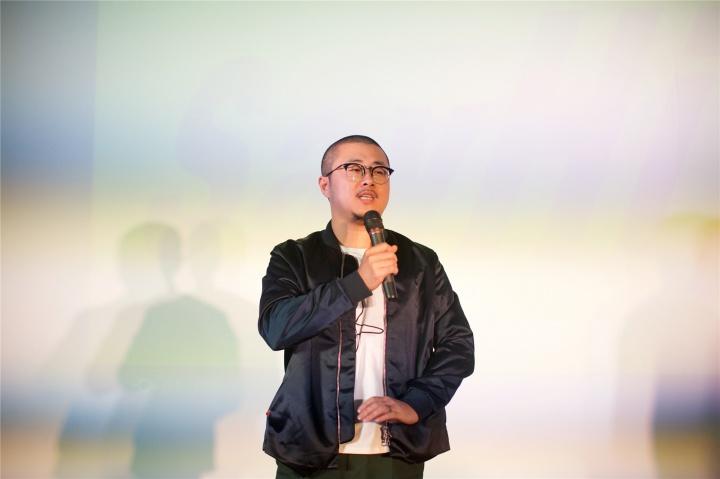 《Hi艺术》十周年现场的陈飞