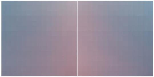 张雪瑞 《225-1 & 225-2 201602》150x150cmx2 布面丙烯 2016