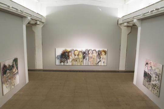 白盒子艺术馆主展厅现场图