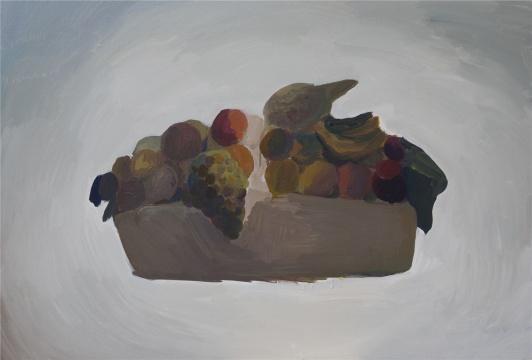 《大果篮》100×150cm布面丙烯 2015