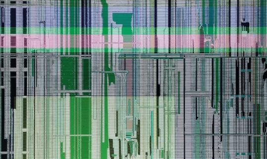 刘韡 《颜色》 180×130cm 布面油画 2013  成交价:287.5万元