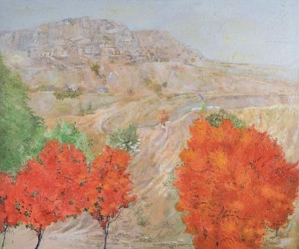段建宇 《艺术女神刚刚醒来1》181×217cm 布面油画 2011流拍