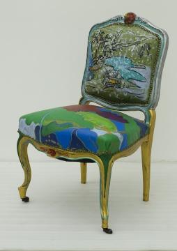 手绘图片椅子马克笔