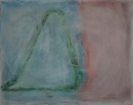《左右》 70×88cm 布面油画 2016
