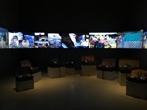胡为一 《低级景观6》 尺寸可变 装置 2017