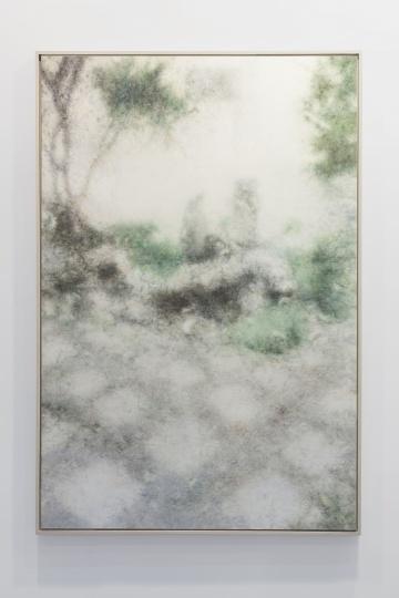 肖芳凯《景物·园林卷:1701》195×130cm 布面油画 2017