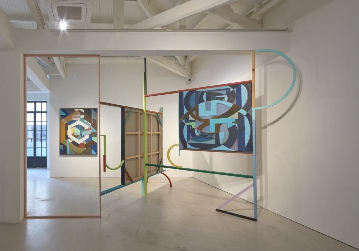 画廊空间手绘快题设计